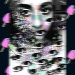 eyes thirdeye art strange icecream freetoedit