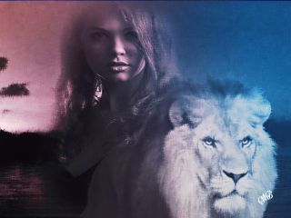 freetoedit fantasy lion woman interesting