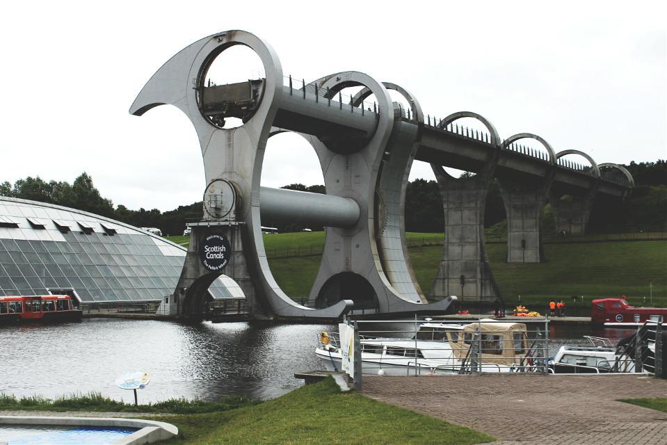 #architecture #bridge #boat #lift #photography