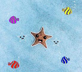 freetoedit cute starfish
