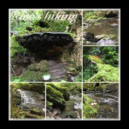 creek nature hiking cleanup norway