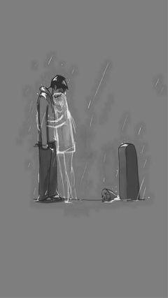 death wallpaper sad rain freetoedit