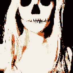 freetoedit 8bit 8bitphotolab 8bitstyle skeleton