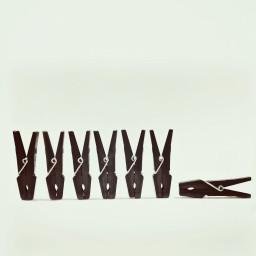 conceptual minimalism blackclothespegs keepitsimple blackonwhite freetoedit
