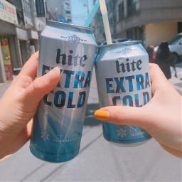 korea beer hite sister and