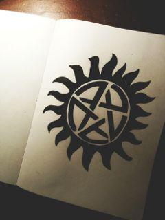 supernatural drawing art notebook photography