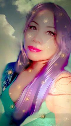 sparklyselfie freetoedit selfie portrait me