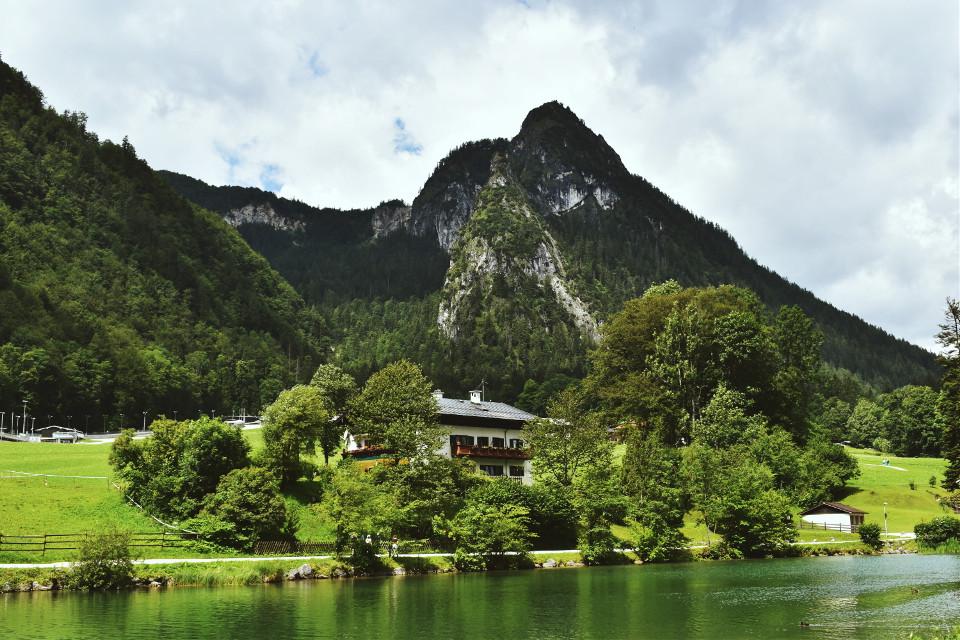 #remixme #landscape #bavaria #mountain #green #lake #forest #beautiful #nature #photography