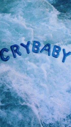 freetoedit blue melaniemartinez crybaby