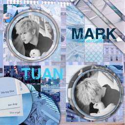 got7 got7mark marktuan kpop blue
