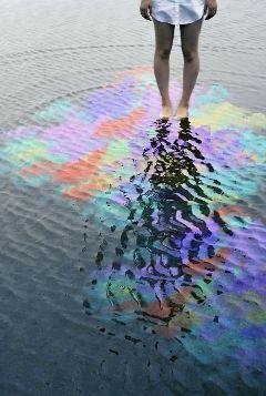 freetoedit water barefoot colorsplash