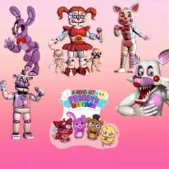 freetoedit madewithfriend fnaf cute