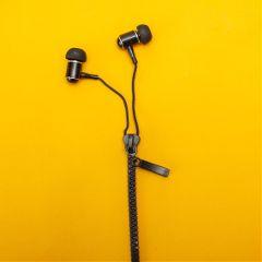 freetoedit headphones yellow