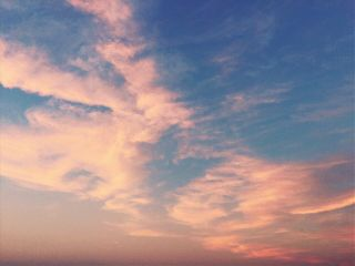 freetoedit clouds sky sunset pinkclouds