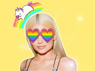 freetoedit kyliejenner unicorn