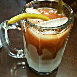 alcohol drinks bloodymary spicy greenbeans freetoedit
