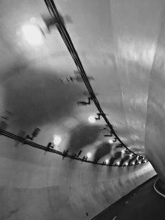 tunnel blackandwhite