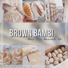 themesearch tan brownbambi theme freetoedit