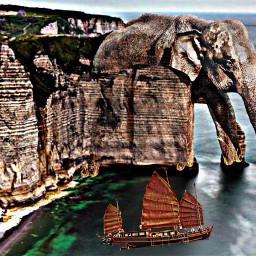 freetoedit remixitchallenge elephantday elephanttemple stonecarved