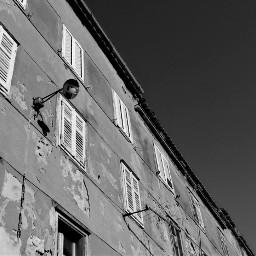 blackandwhite street architecture