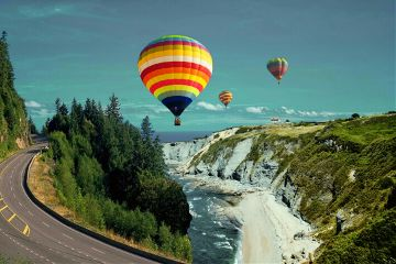 freetoedit beachremix balloon road imaginations