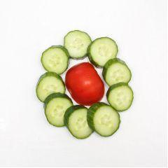 freetoedit tomato cucumber vegetables food