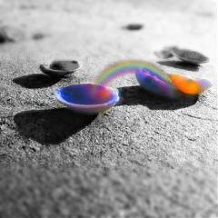 shell beach blackandwhite