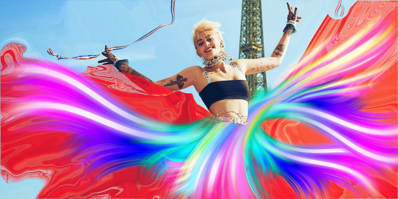 #freetoedit #paris #parisjackson #dress #colouful #myremix #remixed #remixit #editit #picsart #editedpicsart