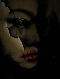 me darkart emotion editedwithpicsart eyes