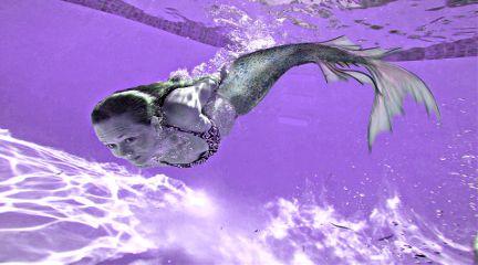 mermaid purple
