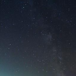 milkyway sky night stars color