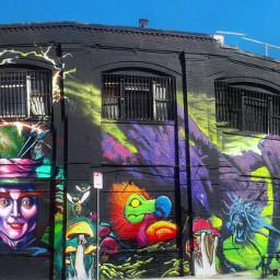 interesting mural murals art artistict