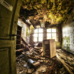 hdr lost places photography old