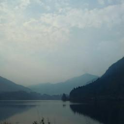 nature mountains lake lakeside scenery freetoedit