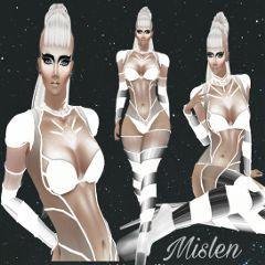 freetoedit futuristic model outfit remixit