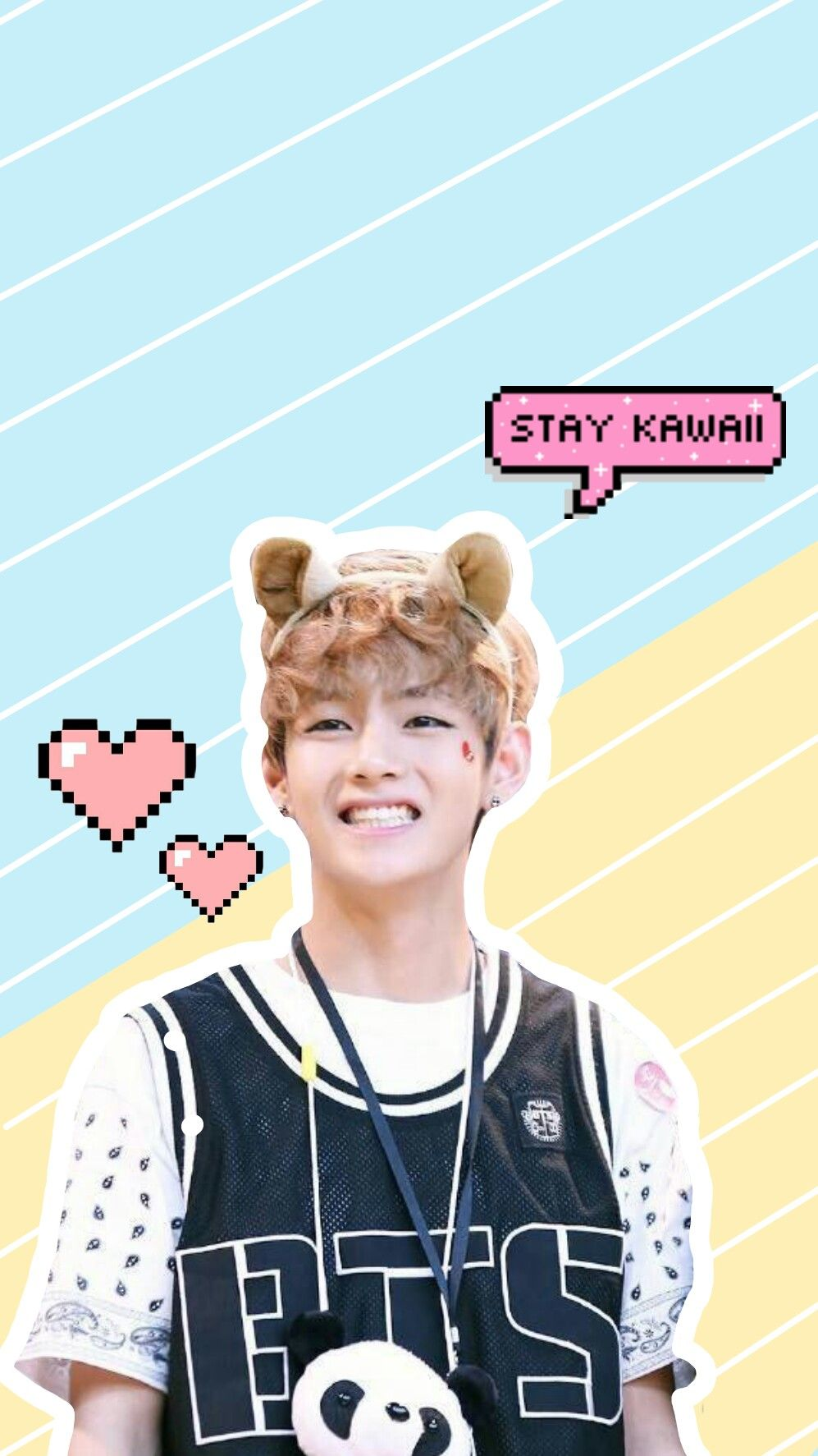 Kim Taehyung V Bts Wallpaper Lockscreen Kawaii Namjoon