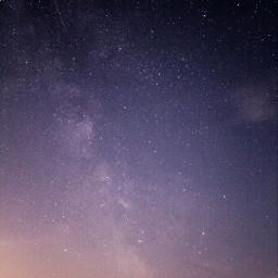 milkyway sky stars light purple