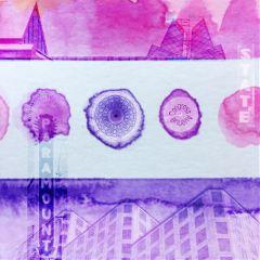 cutout sticker stickerart watercolor doubleexposure