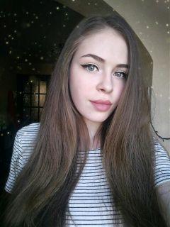 girl face casual