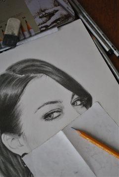 art portrait pencil