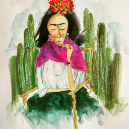fridakahlo illustration illust sketchbook illustrationoftheday