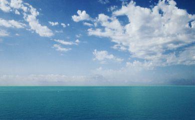 freetoedit sea sky clouds blue