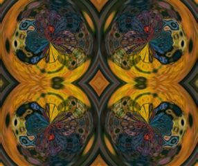 abstract pop colorful digital kaleidoscope freetoedit