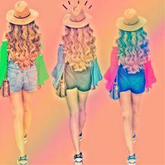 stylish colorful streetphotography