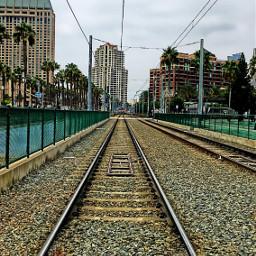 photography railroadtrack travel place harbordrive