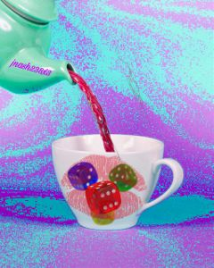 freetoedit dailysticker coffeecup teapot twizzlers