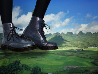 freetoedit giant feet mountain nature