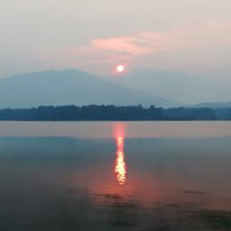 nature sunset photography mountains lake freetoedit