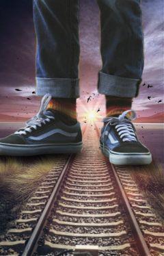 freetoedit myedit feet railroadtrack