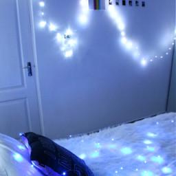 freetoedit fairylights aesthetic bedroom